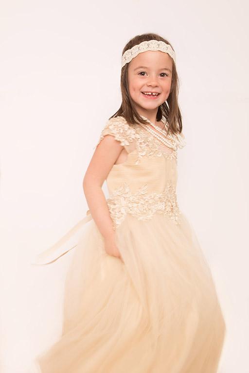 Princesse : anniversaire avec robe de princesse et bijou {